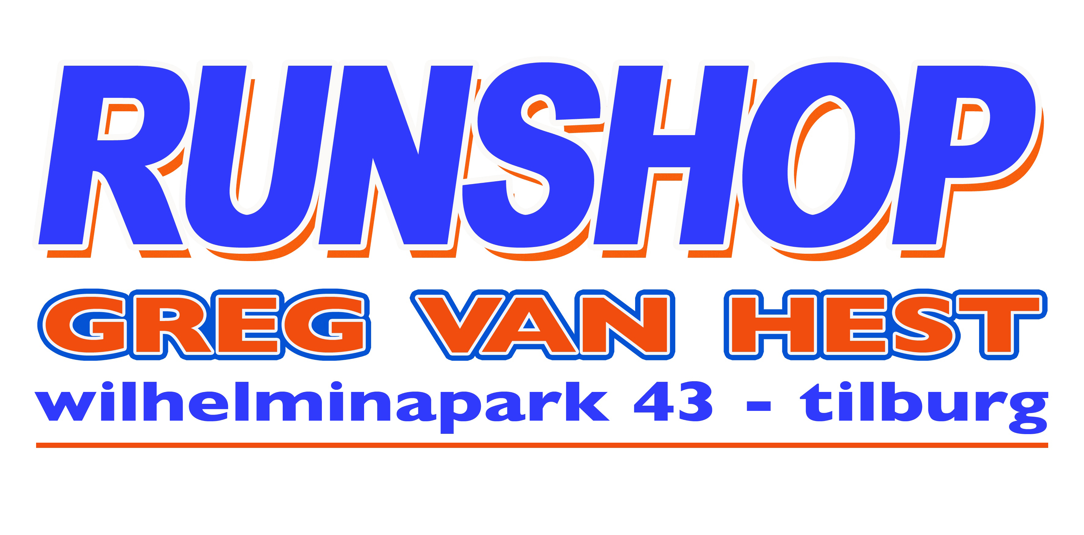 Runshop Greg van Hest